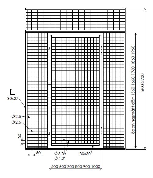 Illustration pulterrum G350 netvæg
