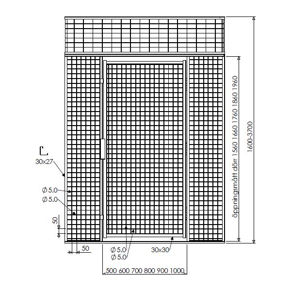 Illustration pulterrum G550 netvæg